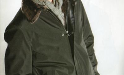 giacca foderata montone