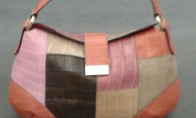 Borsa in cocco patchwork - Compel Brescia