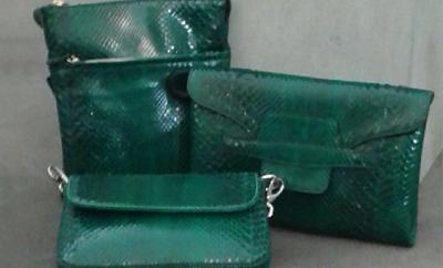 Mini bags in pitone - Compel Brescia