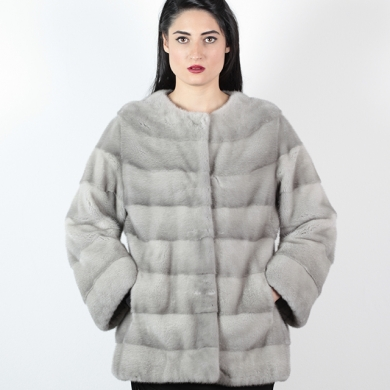 Giacca visone zaffiro - Compel Brescia
