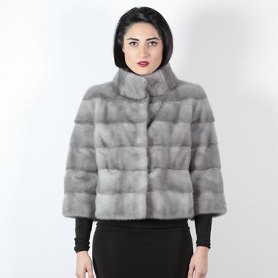 Giacca di visone zaffiro - Compel Brescia