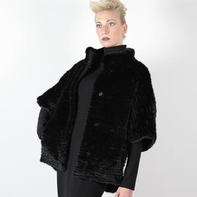 Giacca in visone nero - Compel Brescia