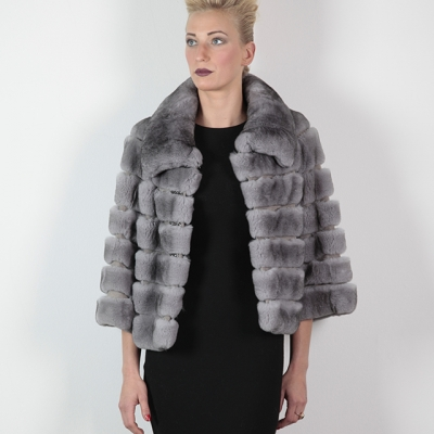 giacca rex grigio polvere