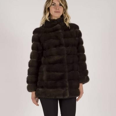 giacca di zibellino