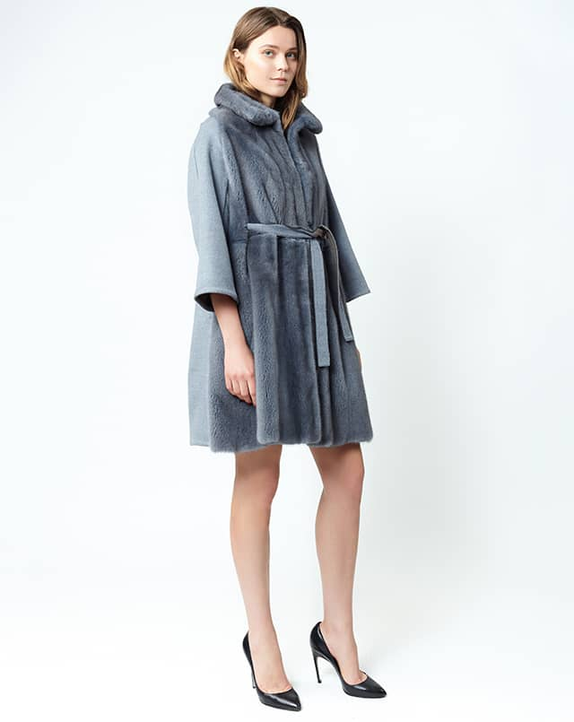 cappottino lana e visone