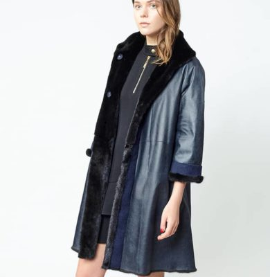 Cappotto di visone reversibile - Art.145